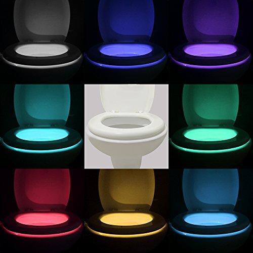 Christmas Lights Shark Tank: Motion Activated Toilet Light