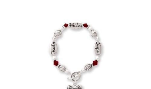 Teacher Wisdom Inspire Bracelet