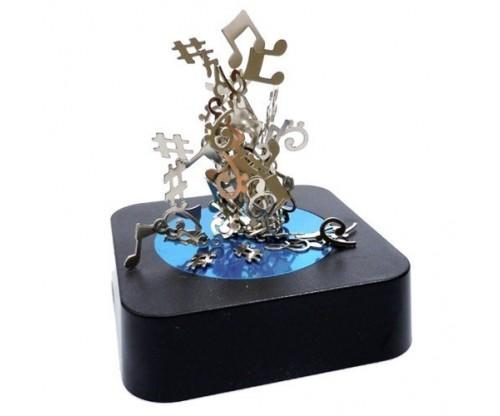 Music Notes Magnetic Sculpture Block