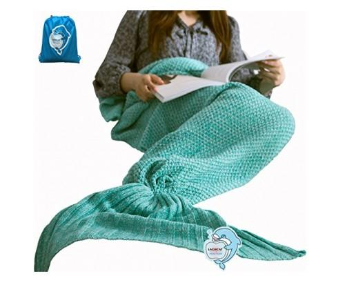 Comfy Mermaid Tail Blanket