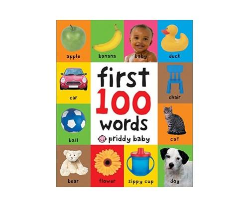 First 100 Words Toddler Book