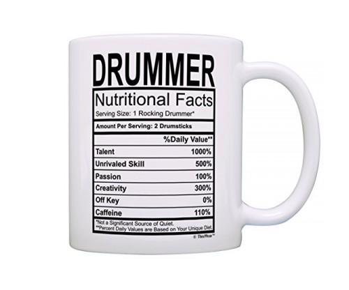 Drummer Funny Coffee Mug Tea