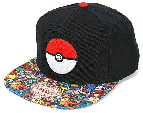 Pokemon Pokeball Sublimated Snapback Hat  59fea776979f