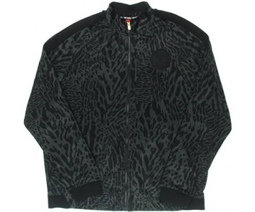 Nike Men's Allover Print Football Club Track Jacket