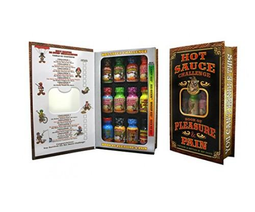 Ass Kickin Hot Sauce Challenge Book of Pleasure and Pain