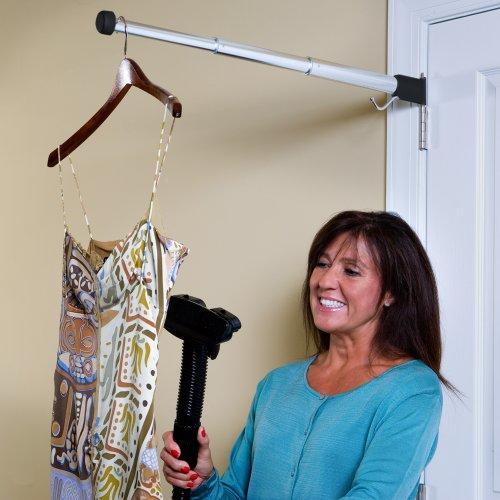 Elegant Hinge N Hang Behind Door Towel Rack Thatsweetgift
