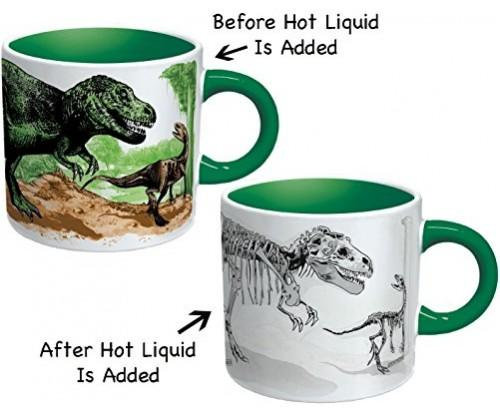 Magic Color Dinosaur Changing Coffee Mug
