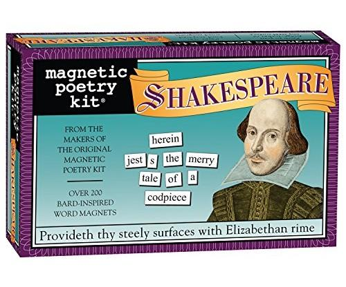 Magnetic Poetry – Shakespeare Kit Magnets for Fridges