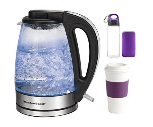 Hamilton Beach Glass Electric Kettle