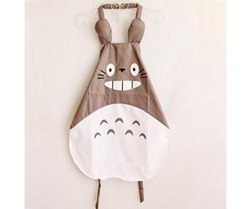 Hyzrz Miyazaki Totoro Gray Apron