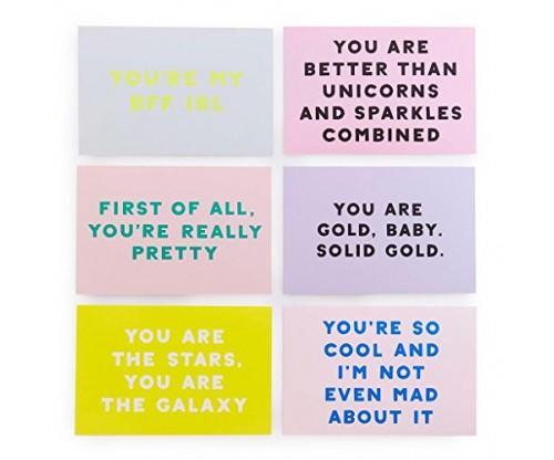 Ban.do Compliment Postcard Book