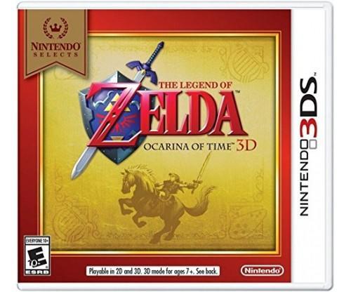 Nintendo Selects: The Legend of Zelda Ocarina of Time 3D Nintendo