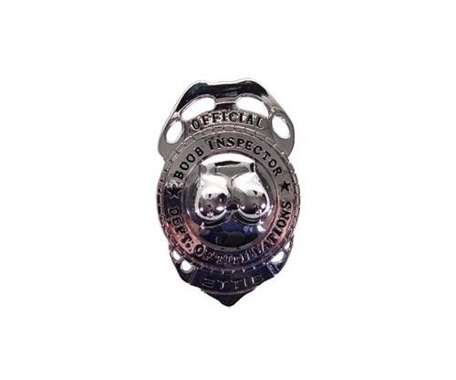 Boob Police Badge