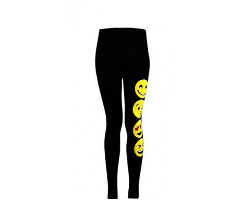 Girls Emoji Leggings