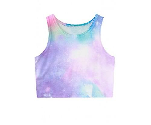 Magic Girl Teen girl Printed Crop Vest
