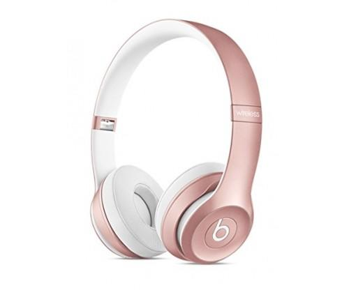 Rose Gold Wireless Headphones by Beats Solo2