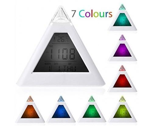 New Sky Tech Mini Pyramid Digital Alarm Clock