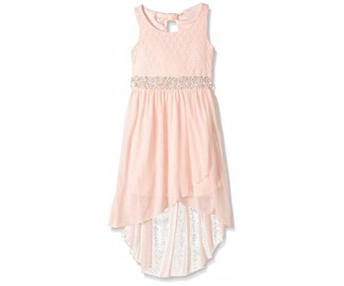 My Michelle Big Girls' Crochet  Dress