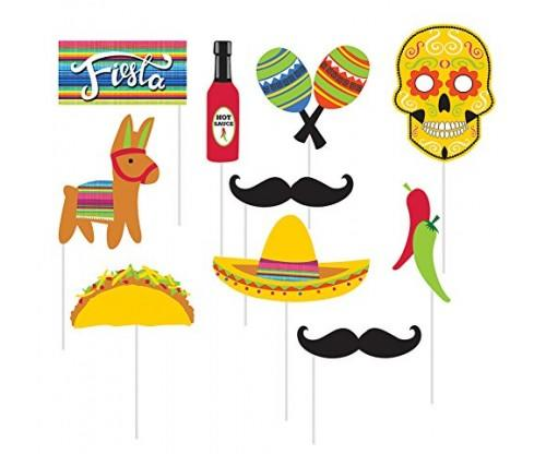 10-Piece Photo Props For Party