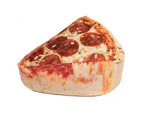 Pizza Shaped Bean Bag Chair!
