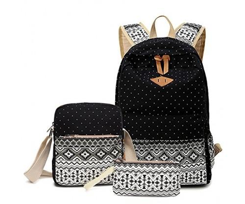 Abshoo Canvas Dot Backpack