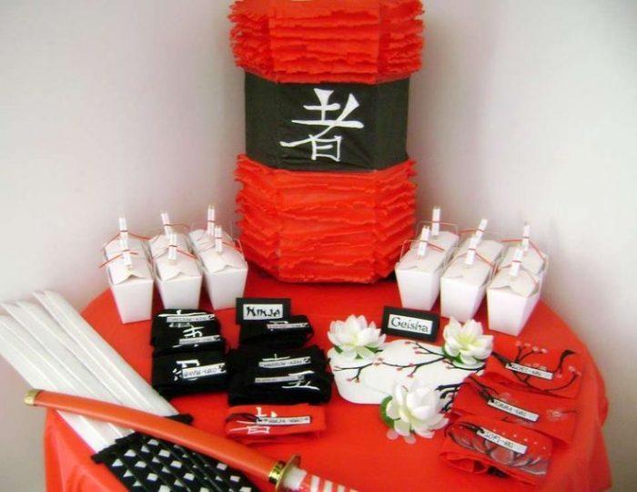 oriental theme party