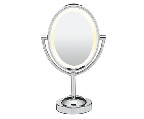 Oval Shaped Double-Sided Mirror