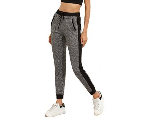 SweatyRocks Women Colorblock Pants