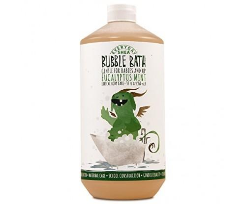Moisturizing Shea Butter Bubble Bath for Babies