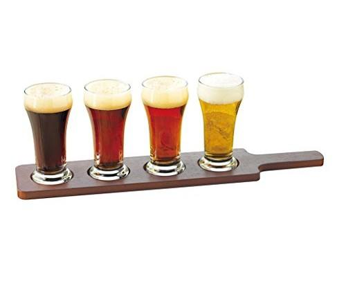 Libbey Craft Brews Beer Flight 6-Ounce Glass Set of 4