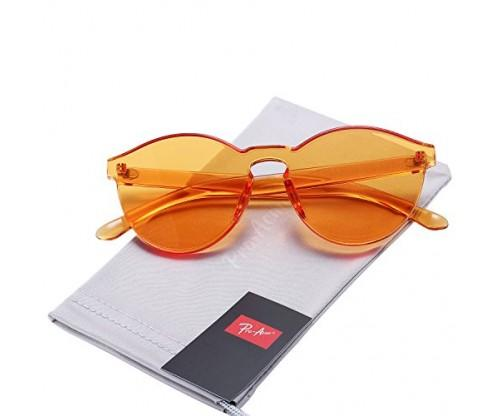 Pro Acme One Piece Design Rimless Sunglasses