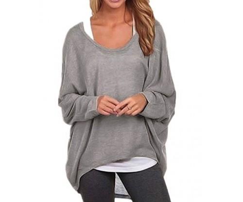 Rjxdlt Women's Batwing Sleeve Pullover