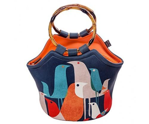 Large Neoprene Lunch Bag Purse