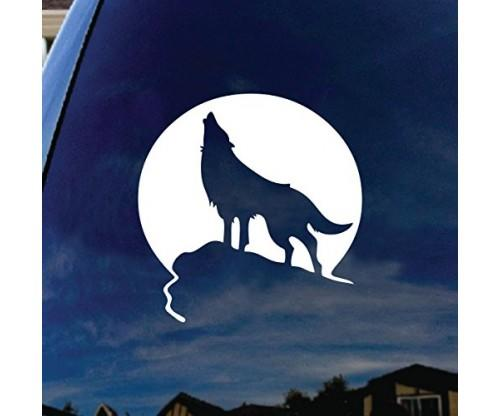 Moon Car Window Vinyl Decal Sticker