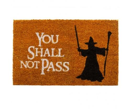 "GetDigital Doormat ""You Shall Not Pass"""