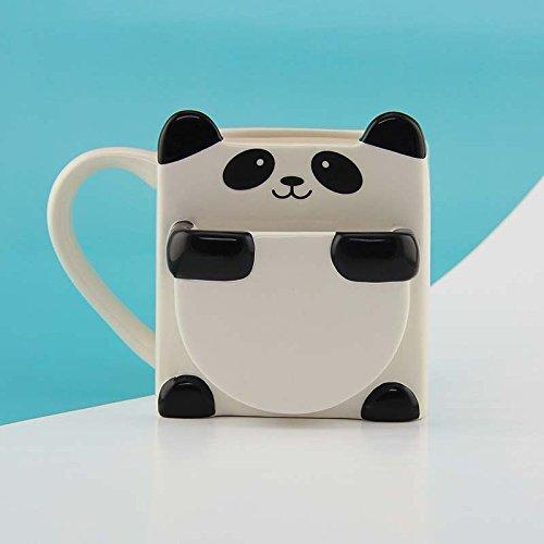 Panda Hug Coffee & Tea Mug W/ Side Cookie Holder | ThatSweetGift