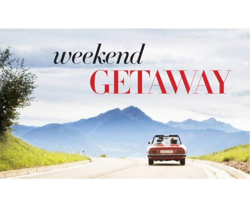 The Only 6 Items You Really Need for A Weekend Getaway!