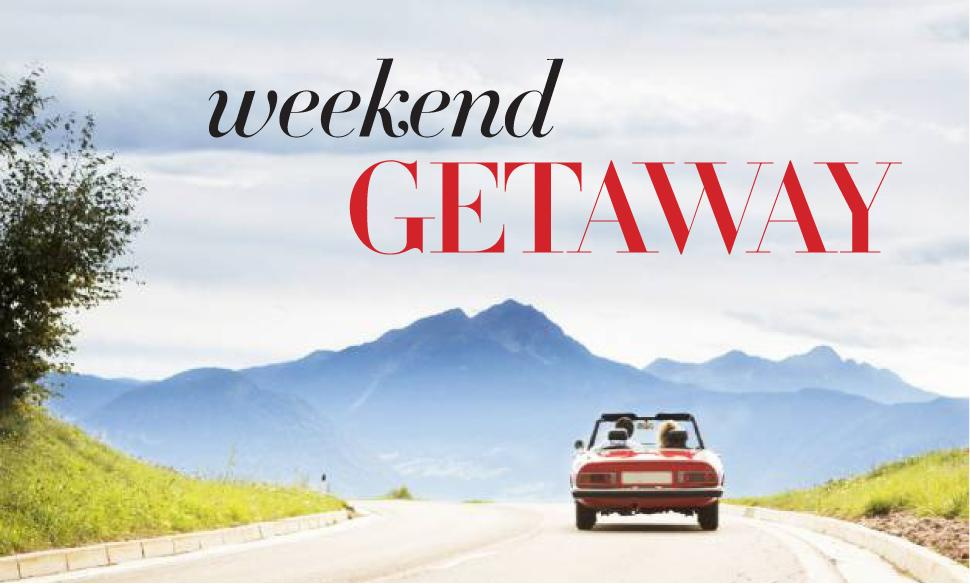 The only 6 items you really need for a weekend getaway for Best weekend vacations for couples