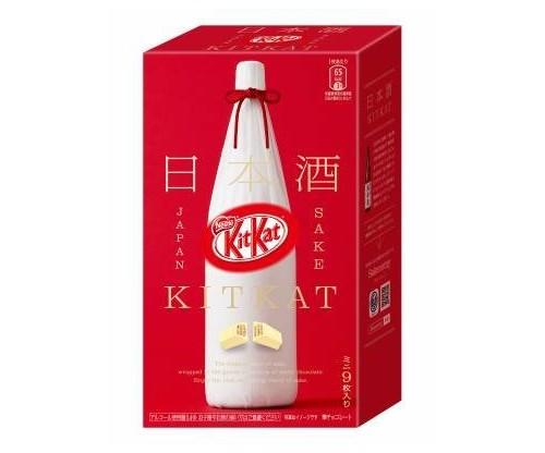 Japanese Kit Kat Sake Flavor Sweetness