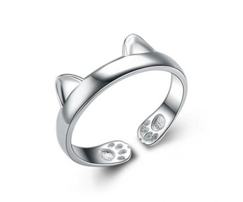 Seven and Eight Sterling Silver Ring