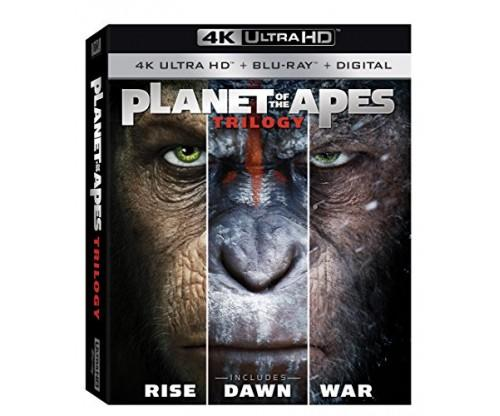 Planet of The Apes: Trilogy Pack