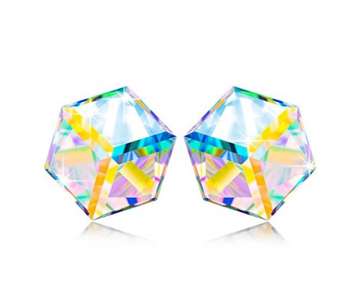 NINASUN Swarovski Crystal Stud Earrings