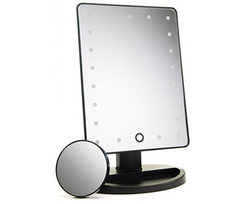 Absolutely Lush Natural Daylight Lighted Makeup Mirror
