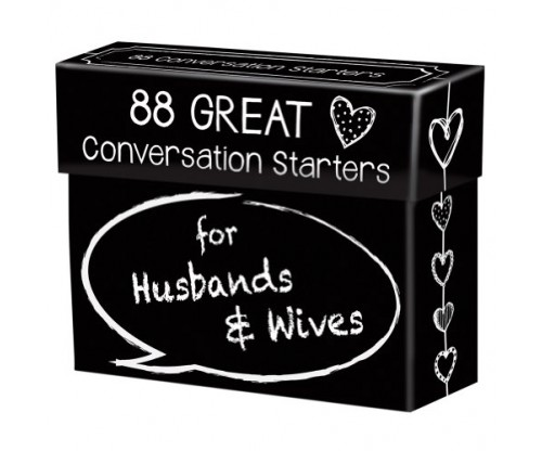 Conversation Starters for Husbands & Wives