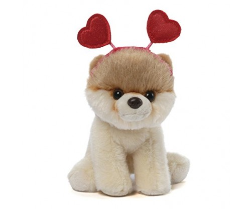 "Gund Valentine Itty Bitty Boo ""World's Cutest Dog"""
