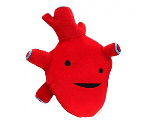 Heart Plush Figure – I Got The Beat! – I Heart Guts