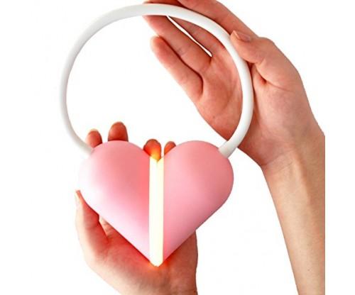 Luvlight Studios Heart Light Deluxe LED Book Light for Hands