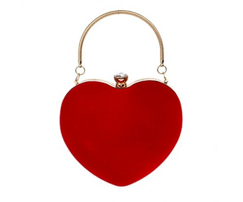 Mily Heart Shaped Shoulder Handbag