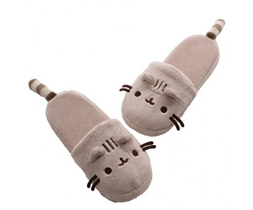 GUND Pusheen Plush Slippers
