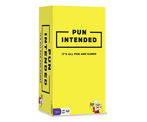 Pun Intended – It's All Pun And Games